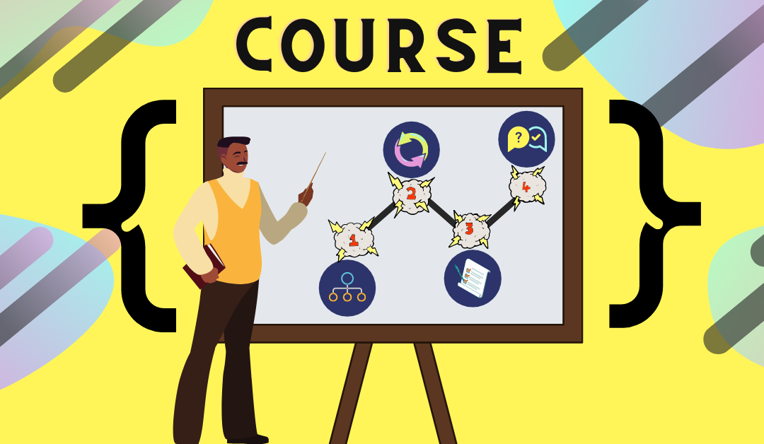 Designing a coding course for school students